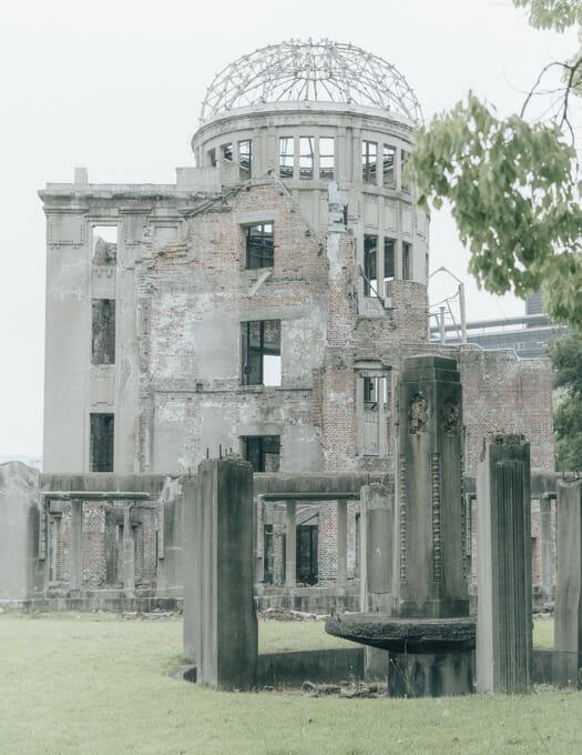 Carl Zeiss Batis 40mm f2 CF α7III landscape architecture hiroshima peace memorial