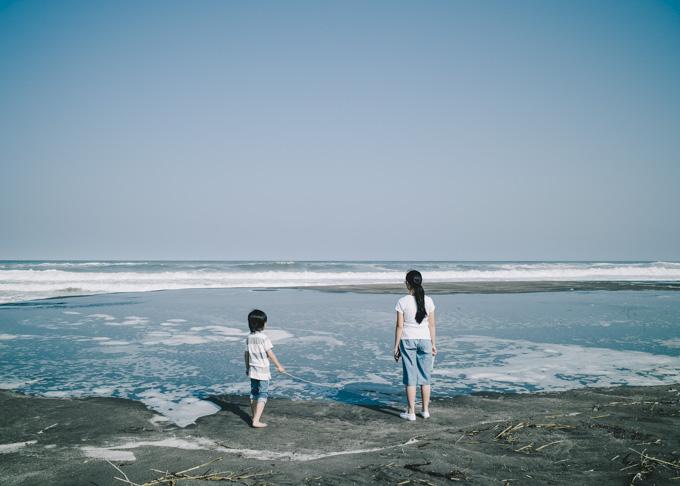 Summicron 28mm f2 ASPH 風景 海 家族 単焦点