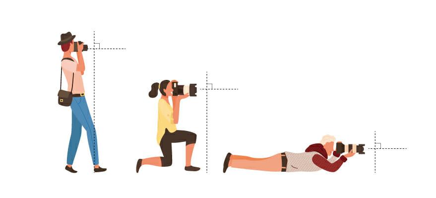 カメラの構え方 基本
