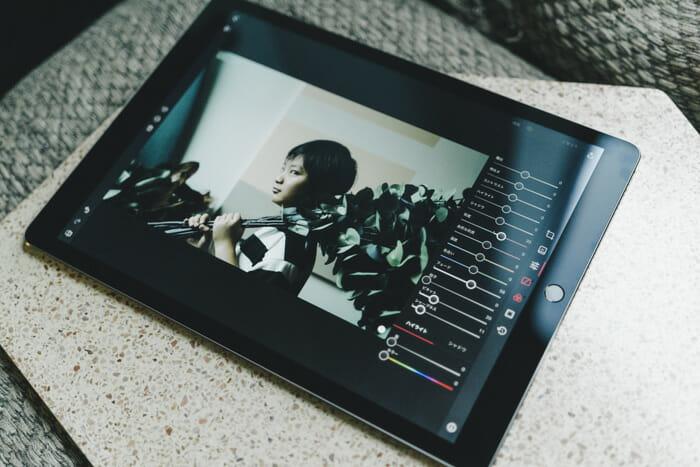 Darkroom iPad UI