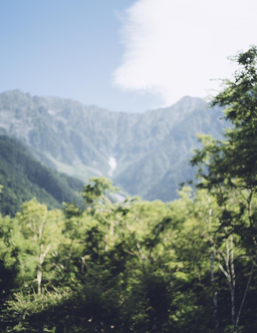 山へ行く SIGMA fp NOKTON 50mm f1.2 Aspherical 風景 単焦点 作例