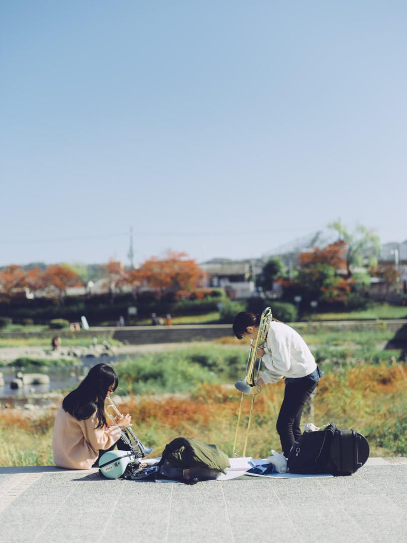 noctilux 50mm f0.95 asph. 京都 Kyoto ノクチルックス 鴨川 出町柳 Kamogawa River ポートレート