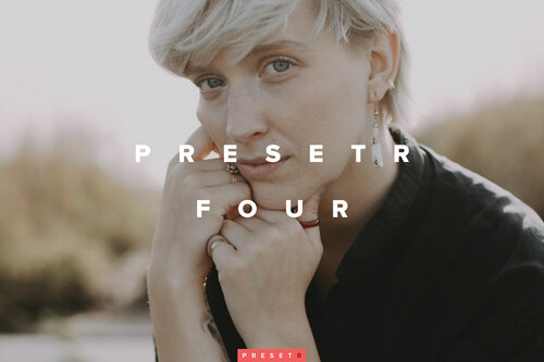 Presetr four Lightroom presets to speed up your image editing