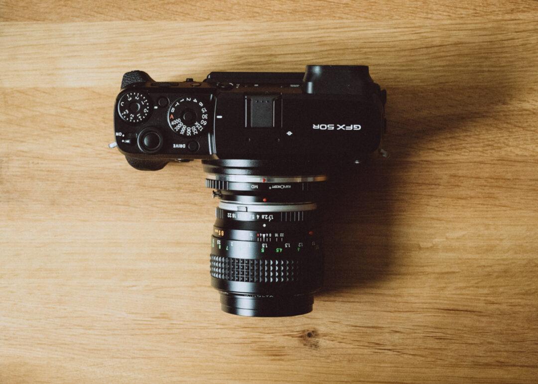 gfx 50r rokkor 85mm f1.7 オールドレンズ ミノルタ ロッコール MINOLTA レビュー review ボディ body 作例